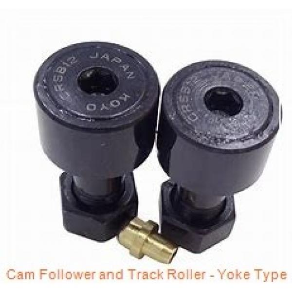 INA NATR12-X-PP  Cam Follower and Track Roller - Yoke Type #1 image