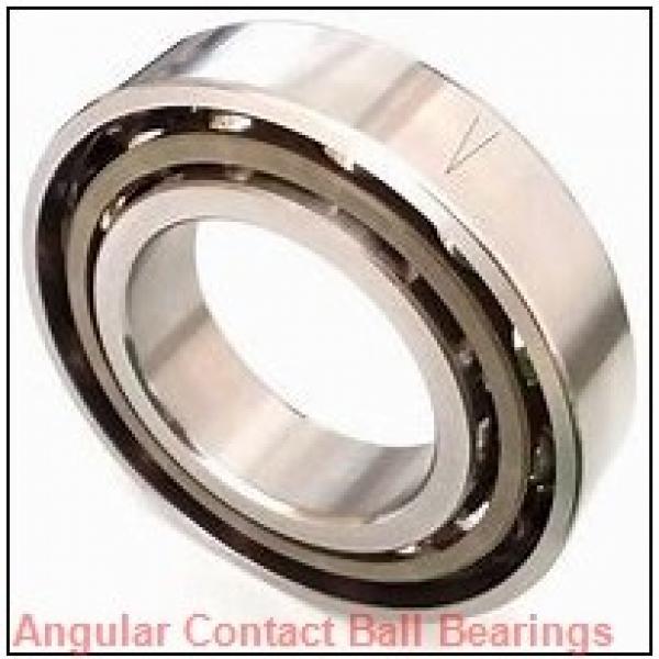 35 mm x 80 mm x 38,1 mm  TIMKEN 5307WD  Angular Contact Ball Bearings #1 image